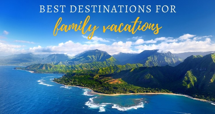 20 Best Family Vacation Destinations For 2020 Our Globetrotters