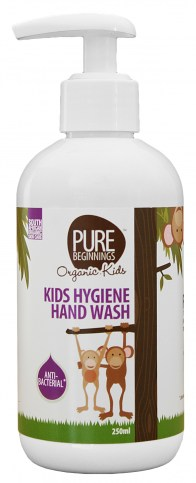 Kids hygiene hand wash