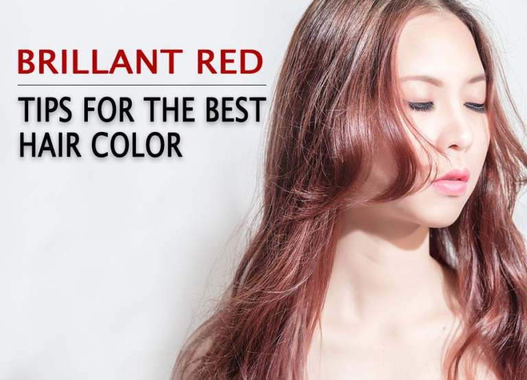 Tips For The Best Hair Color: Brilliant Red