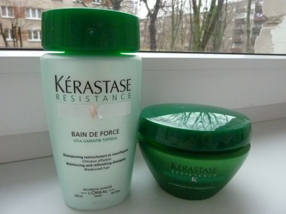 Kerastase Resistance – shampoo and masque – my review