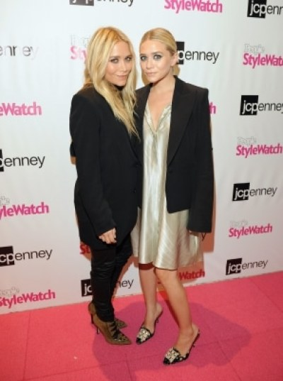 Mary Kate Olsen and Ashley Olsen showed the best hair trends at NY Fashion Week 2011