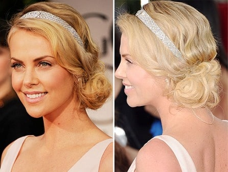 Best Hairstyles of Golden Globes 2012