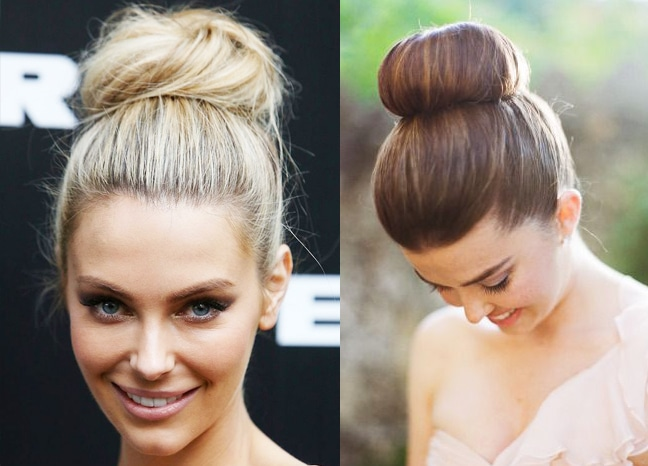 how to make the perfect hair bun