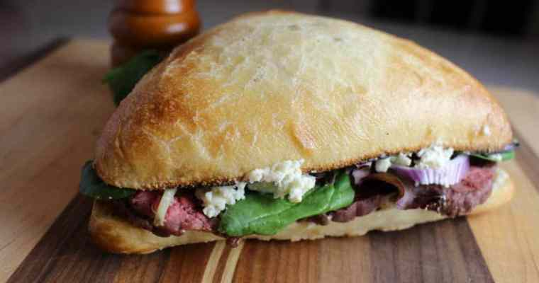 Roast Beef Sandwich with Boursin