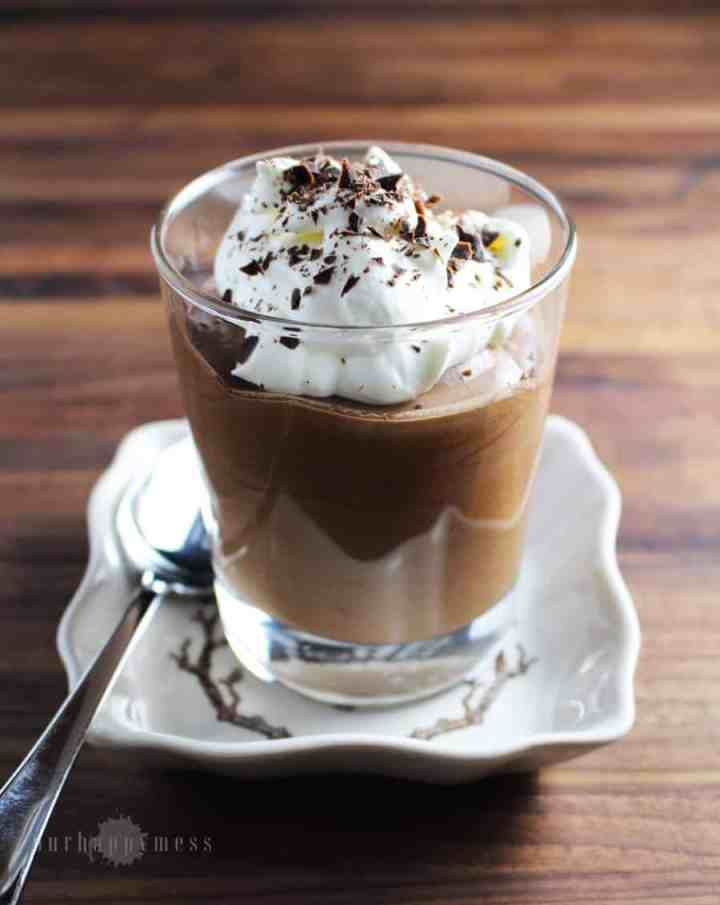 This easy chocolate mousse is quick and simple, and yet both elegant and kid-friendly. This one is light, but rich and satisfying.