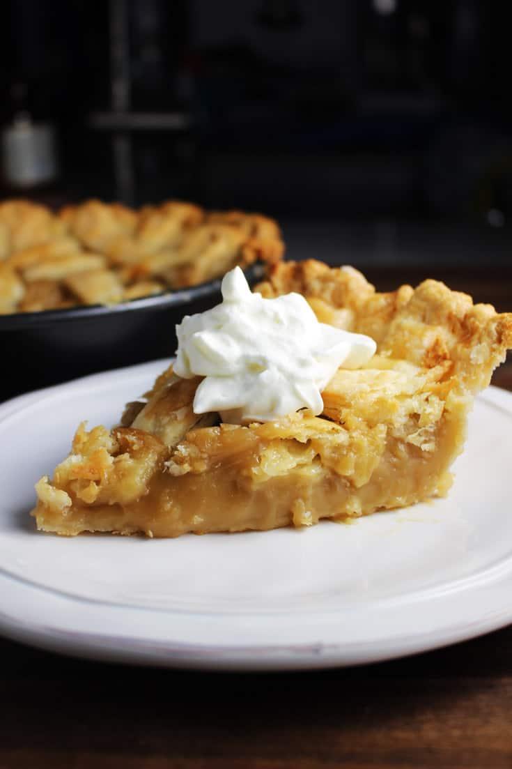 Classic Quebec Sugar Pie