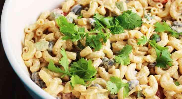 Creamy Taco Macaroni Salad Recipe