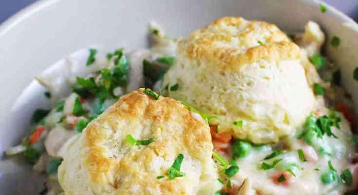 Chicken and Biscuits Casserole