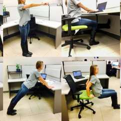 Office Chair Exercises Crate And Barrel Kitchen Chairs Make It Happen 8 Simple You Can Do At Your Desk
