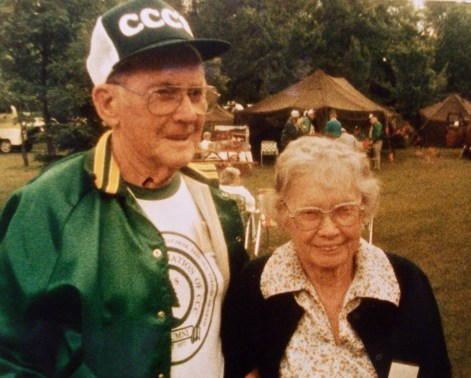 Waldo and Marguerite Fisher