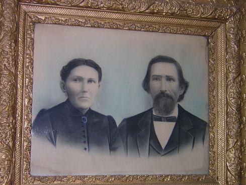 Portrait of Thomas and Amanda Green