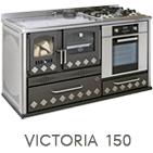 Cucina a legna Victoria 150 potenza 7,6 kW pietra ollare