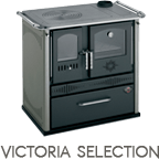 Cucina a legna Victoria Selection potenza 7,2 kW