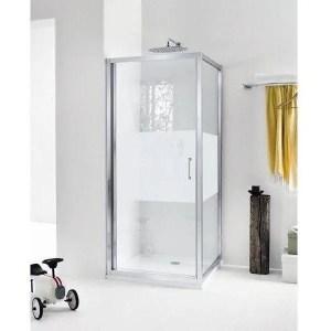 Porta box doccia 70 battente New Claire