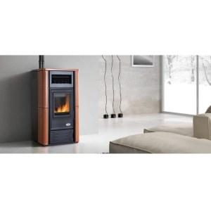 Stufa a pellet Firenze Plus potenza 13,06 kW canalizzata aria