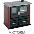 Termostufa a legna Victoria potenza 20,30 kW