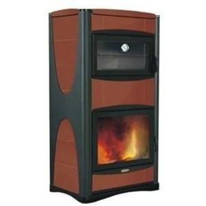 Termo stufa a legna Idropiù con caldaia e forno potenza 34 kW
