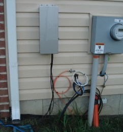 outdoor electrical wiring house wiring diagram used outside electric meter diagram [ 2816 x 2112 Pixel ]