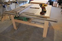 Setting Up Table Saw & Setting Up My New Sawstop Jobsite ...
