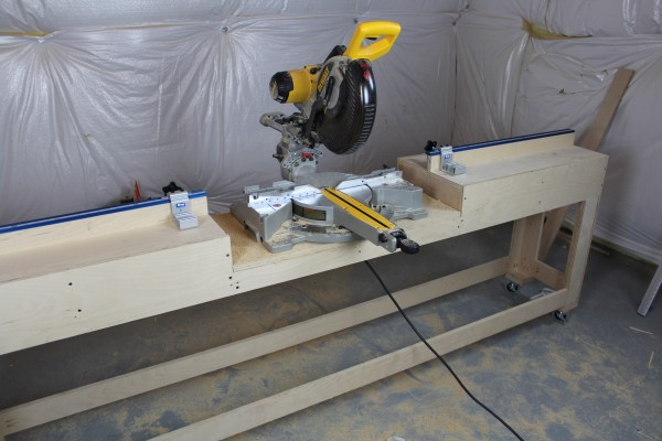 Workbench With Miter Saw Plans