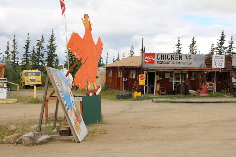 Unik, di Alaska Ada Kota Bernama Ayam
