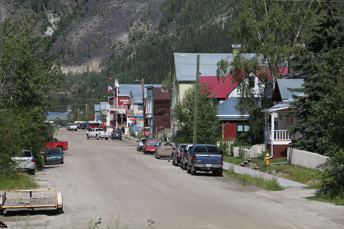 The Klondike Highway Dawson City To Whitehorse Our