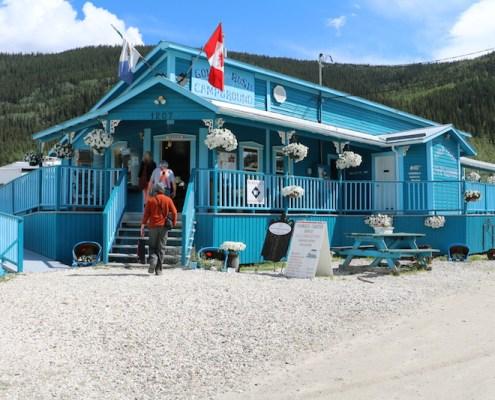 Goldrush RV Park, Dawson City, YT