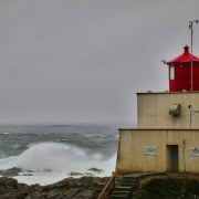 Amphritrite Lighthouse, Ucluelet, Vancouver Island, BC