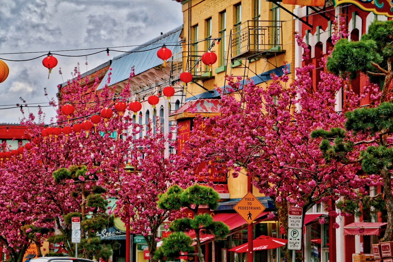 Victoria S Chinatown In The Spring Our Home Has 6 Wheels
