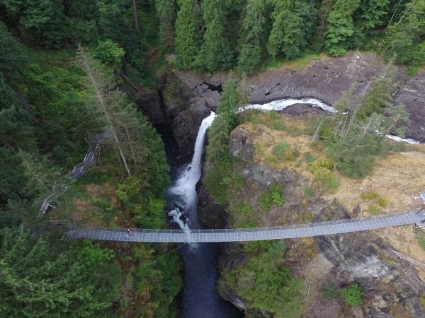 Elk Falls & the Elk Falls Suspension Bridge