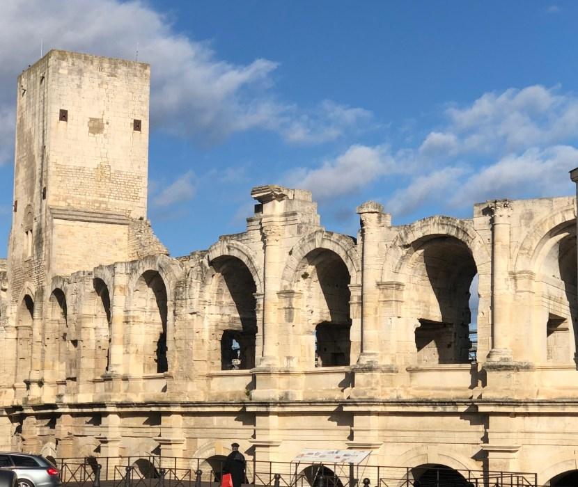 Arels Roman Arena exterior view