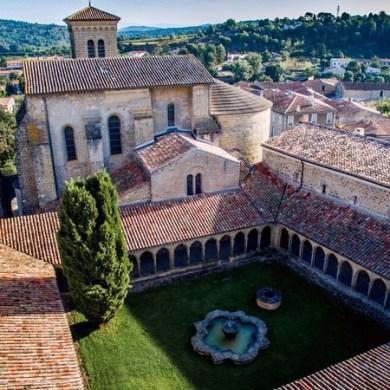 Blanquette de Limoux and St. Hilaire abbey