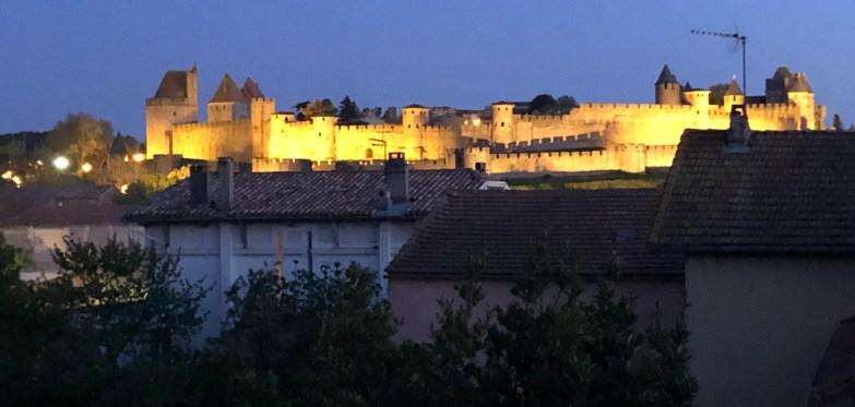 Carcassonne walled city Carcassonne Confinement Continues