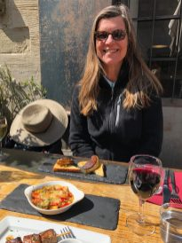 Carcassonne-April-2019-Geri-VIbeke-lunch-Adelaide