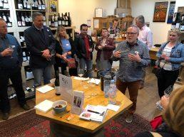 Carcassonne-April-2019-Geri-Wine-Tasting-Vin-et-Vinos-with-Brent