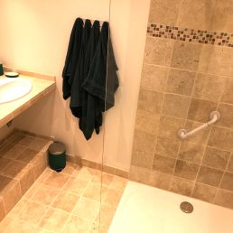Apartments-for-rent-in-Carcassonne-shower-and-tile-floor