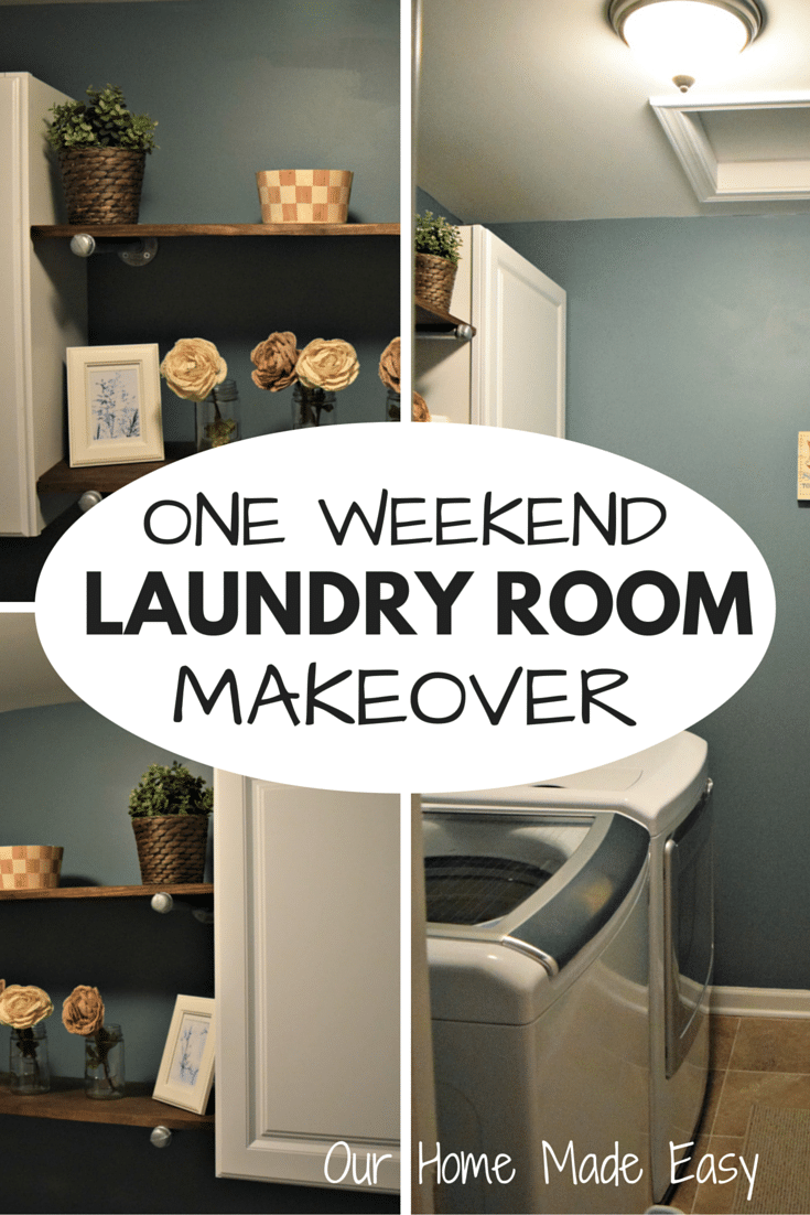 Updating The Laundry Room Decor In One Weekend Our Home