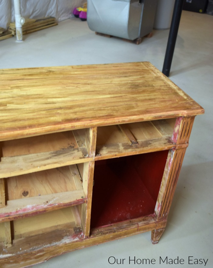 How to Easily Remove Paint & Varnish from Old Furniture