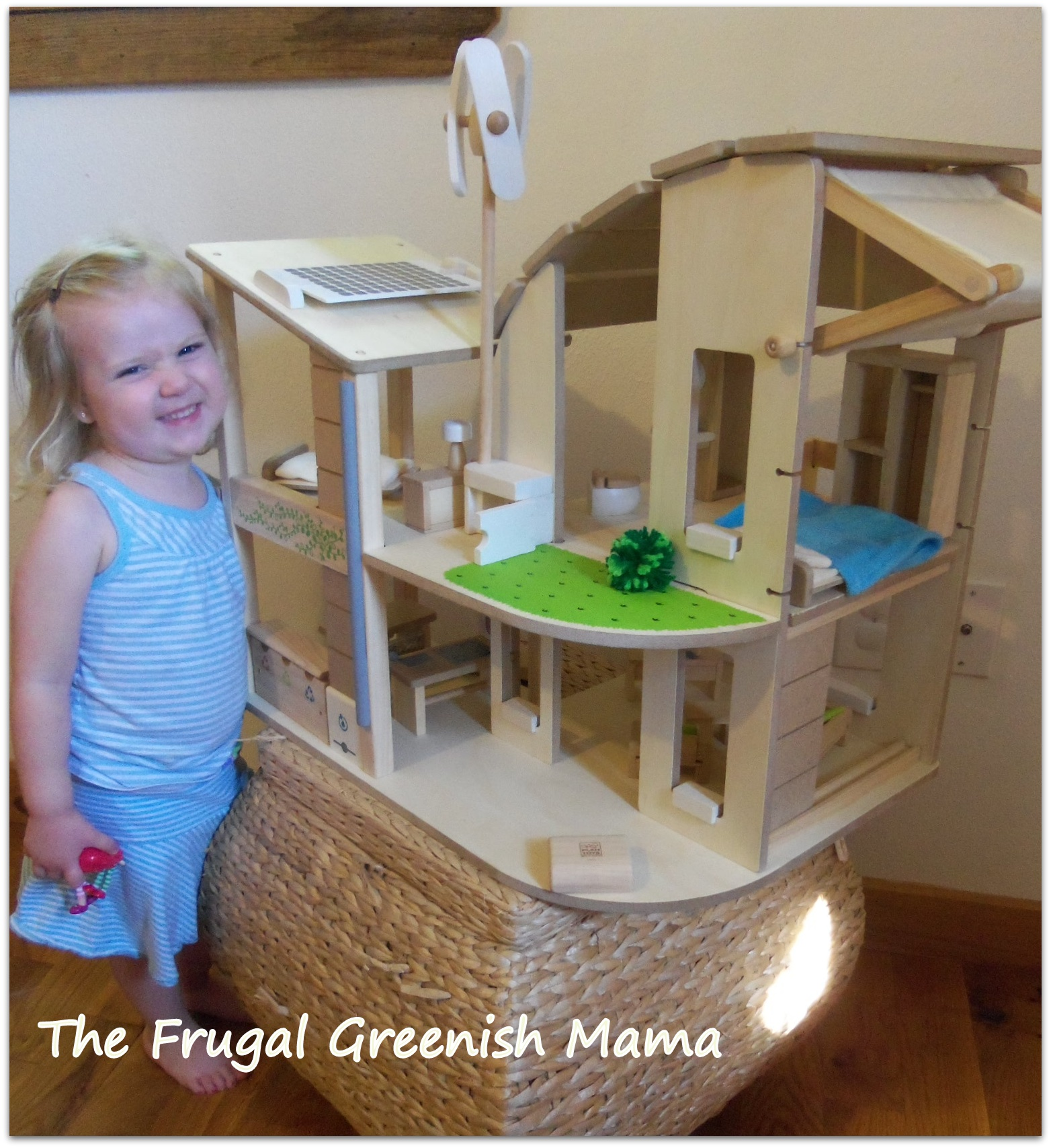 plan toys green dollhouse with furniture | roselawnlutheran