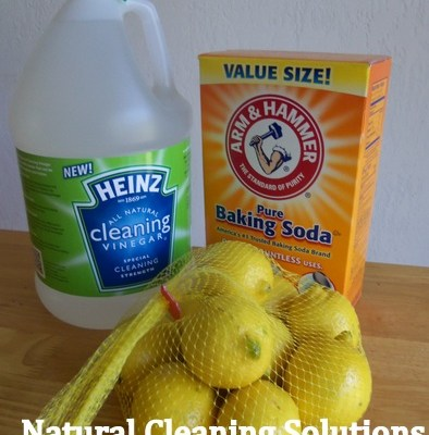 Simple Natural Cleaning Solutions with #HeinzVinegar #CBias
