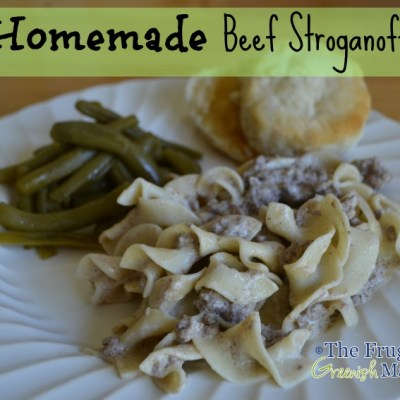 Quick Family Meals: Homemade Beef Stroganoff Recipe