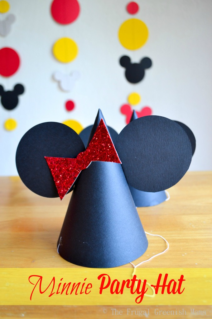 minnie party hat