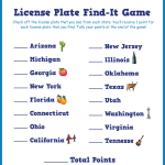 License Plate Game: Find-It from Little Passports