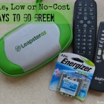 10 Simple, Low or No-Cost Ways to Go Green