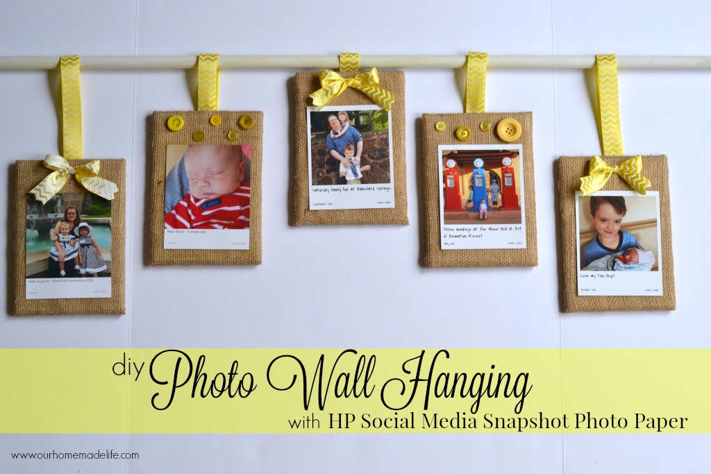 hp photo wall hanging