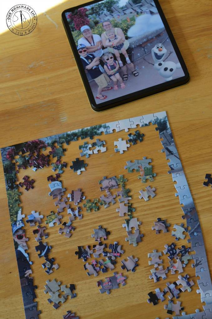 york photo puzzle in pieces