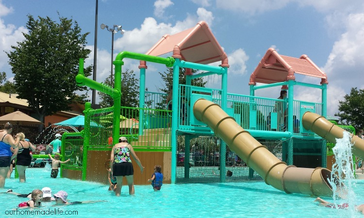 Branson - White Water Kiddie Area