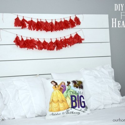 Floating DIY Headboard