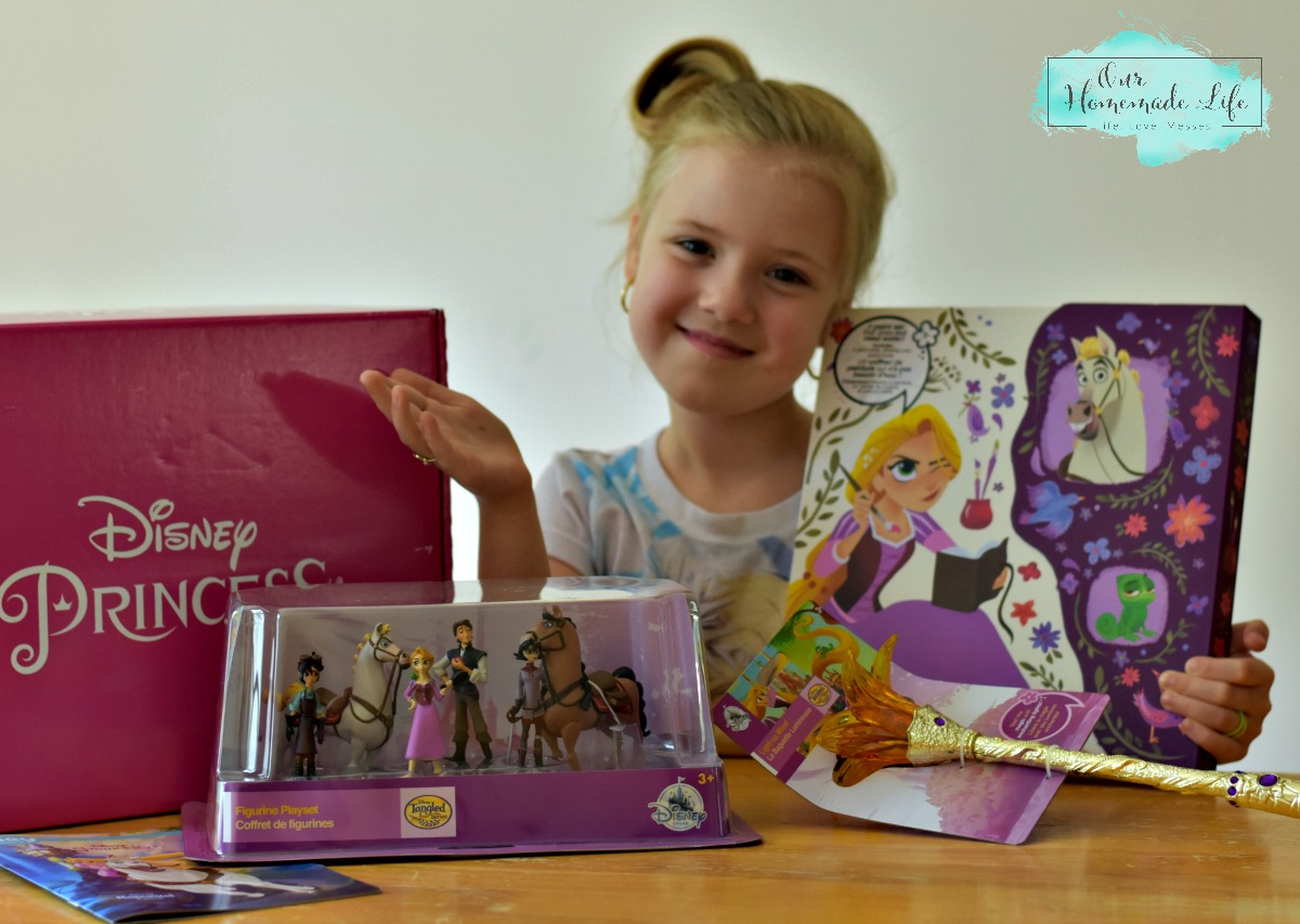 Disney Princess Rapunzel Pley Box