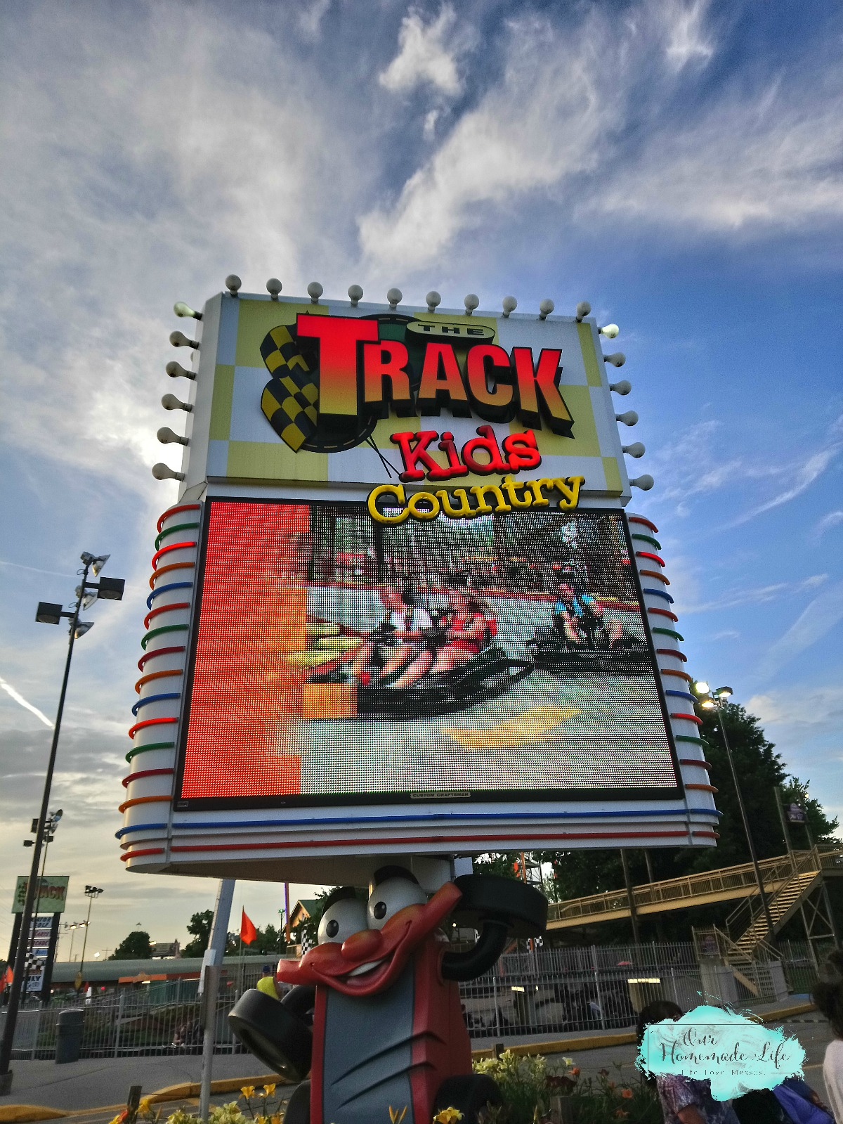 Family Fun at the Track in Pigeon Forge